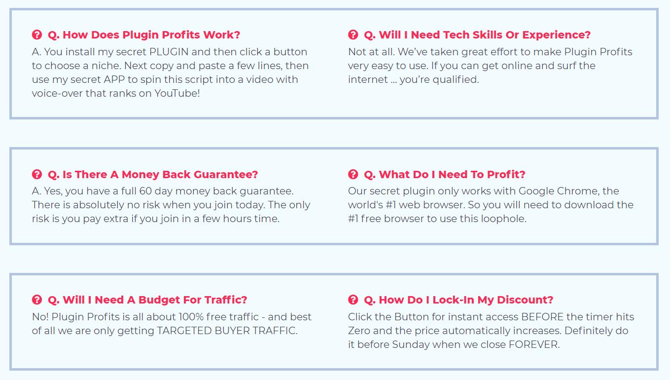 Plugin-Profits-FAQ