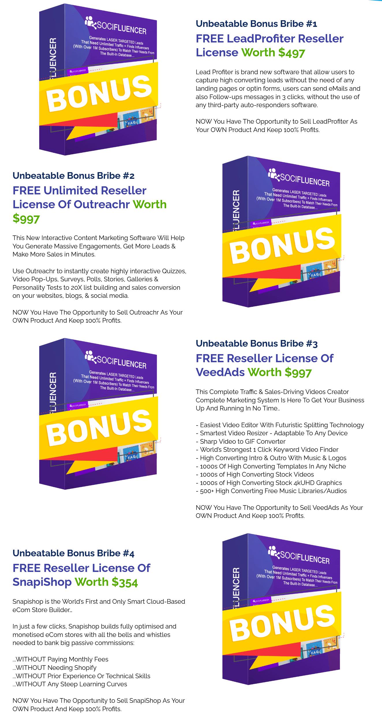 SociFluencer-bonus