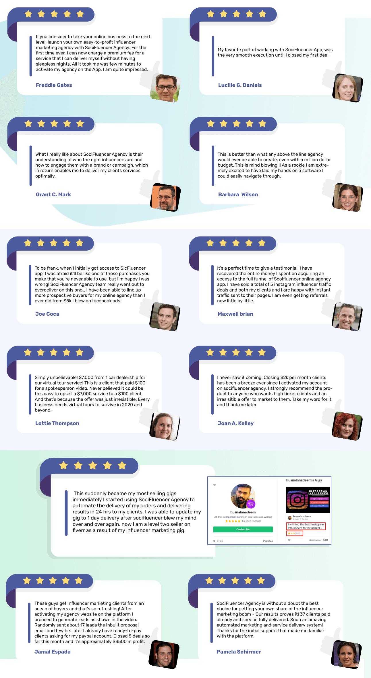 SociFluencer-feedback