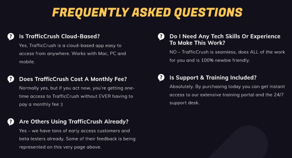 TrafficCrush-faq