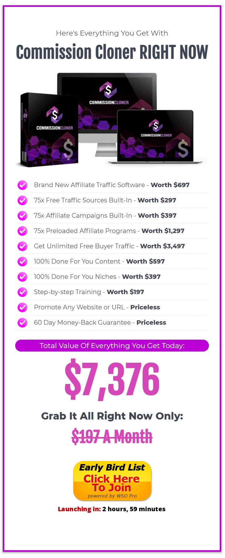 Commission-Cloner-price