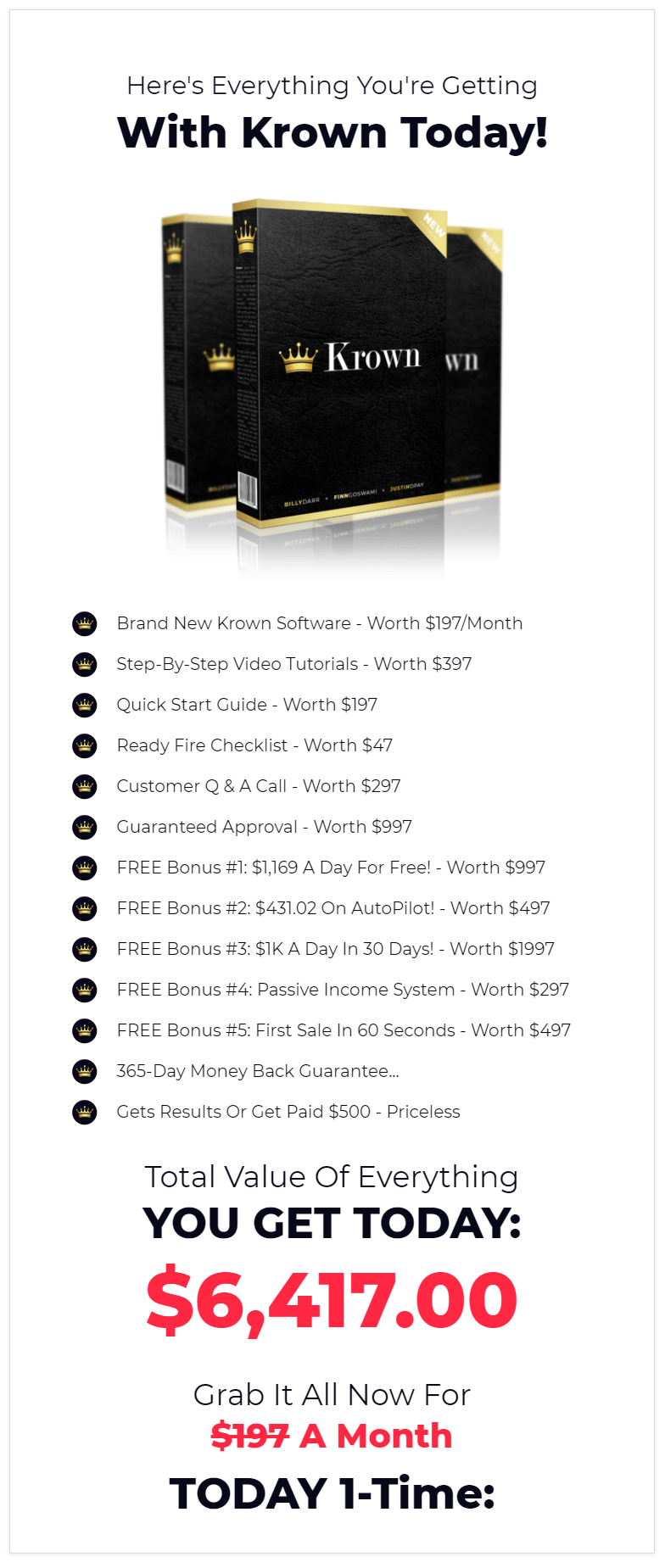 Krown-Software-price
