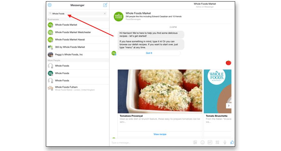 Messenger-Bot-service-sample