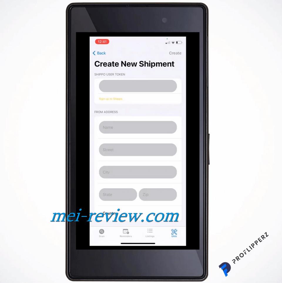 ProFlipperz-App-Demo-14-create-shipment