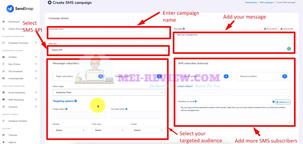 SendSnap-Demo-13-SMS-campaign