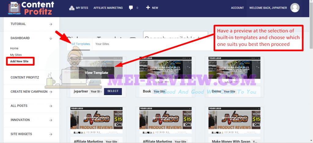Content-Profitz-Demo-3-add-new-site