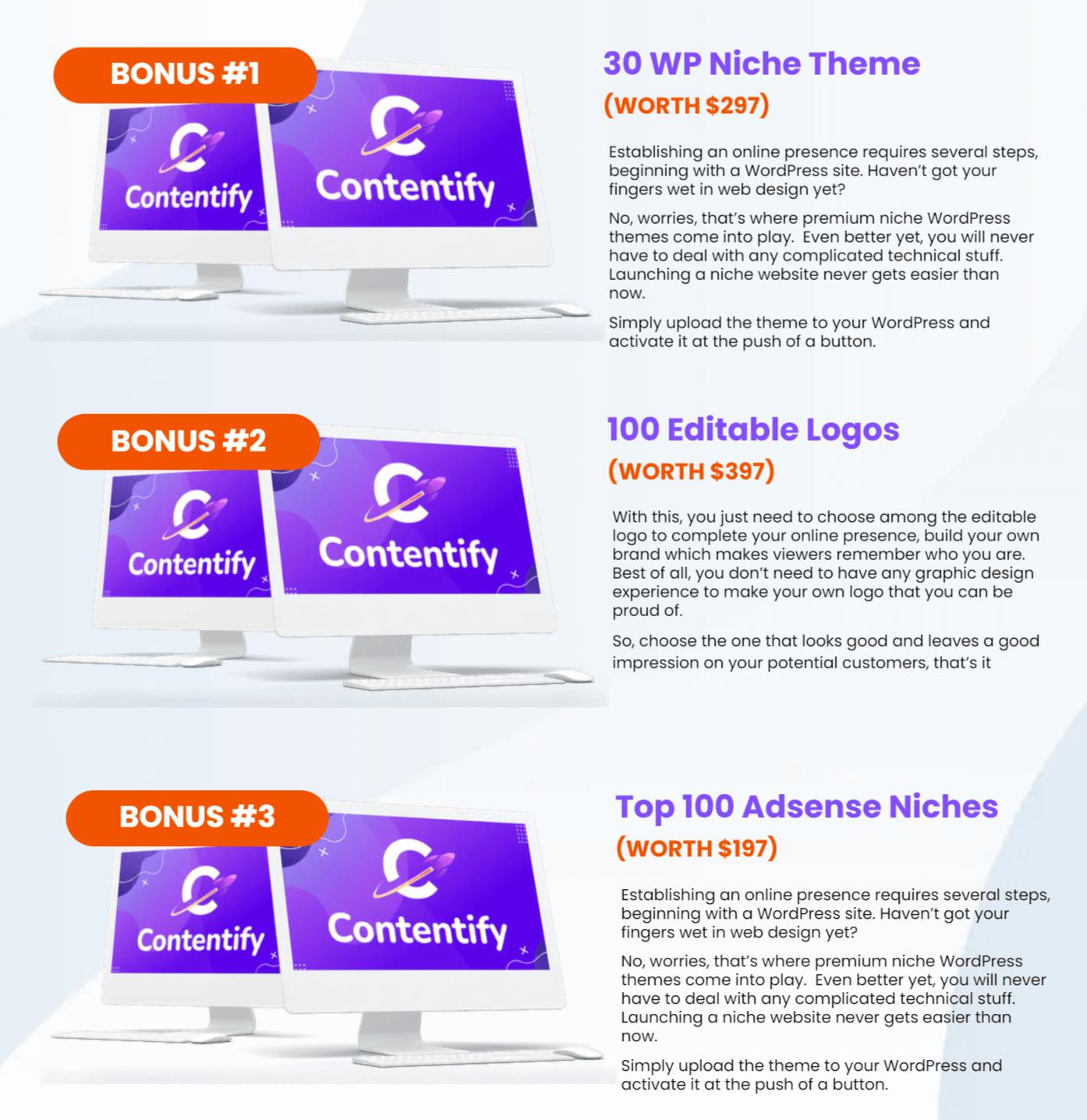 Contentify-bonuses