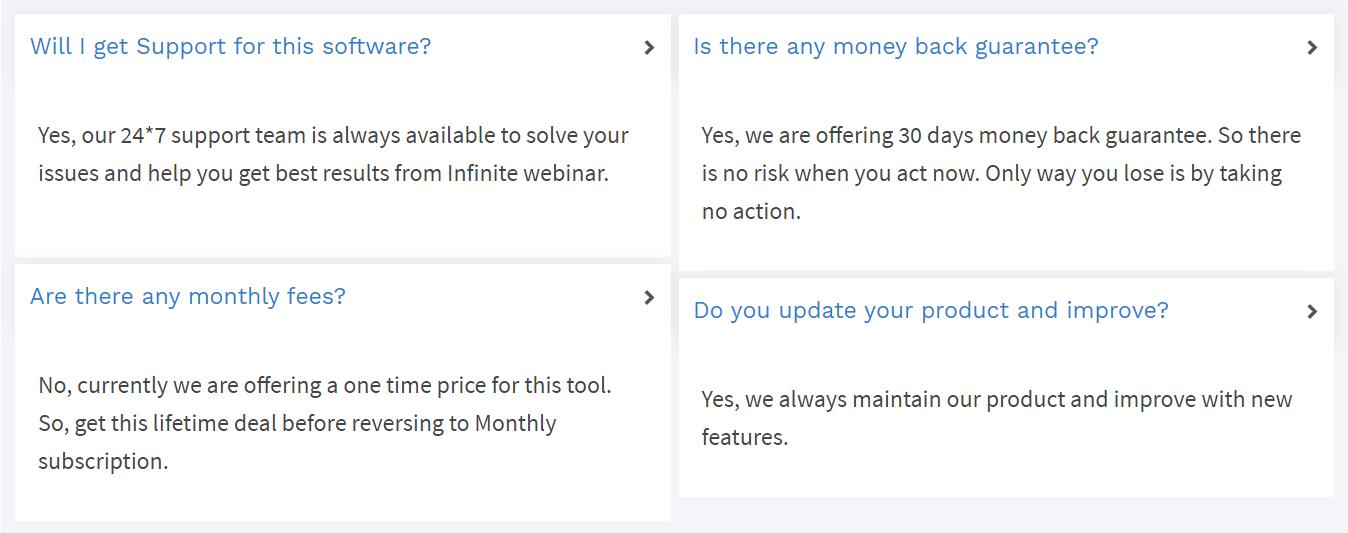 Infinite-Webinar-faq