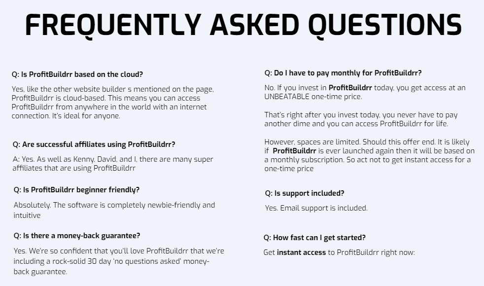 Profitbuildrr-faq