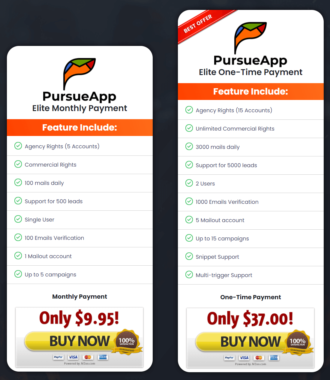 PursueApp-price
