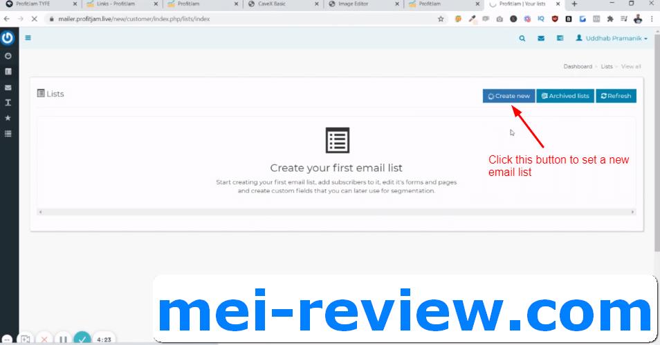2-create-new-list-with-mailjam
