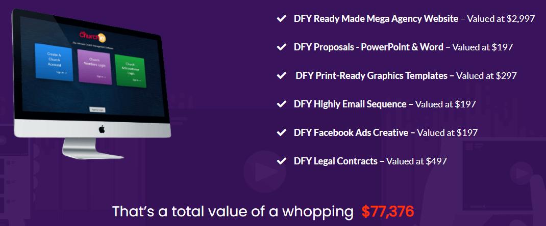 Churchio-Agency-price