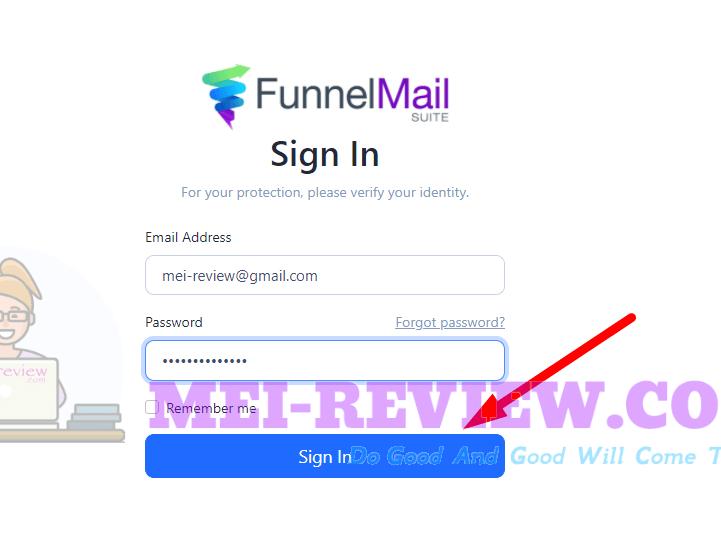 FunnelMail-Suite-demo-1-login