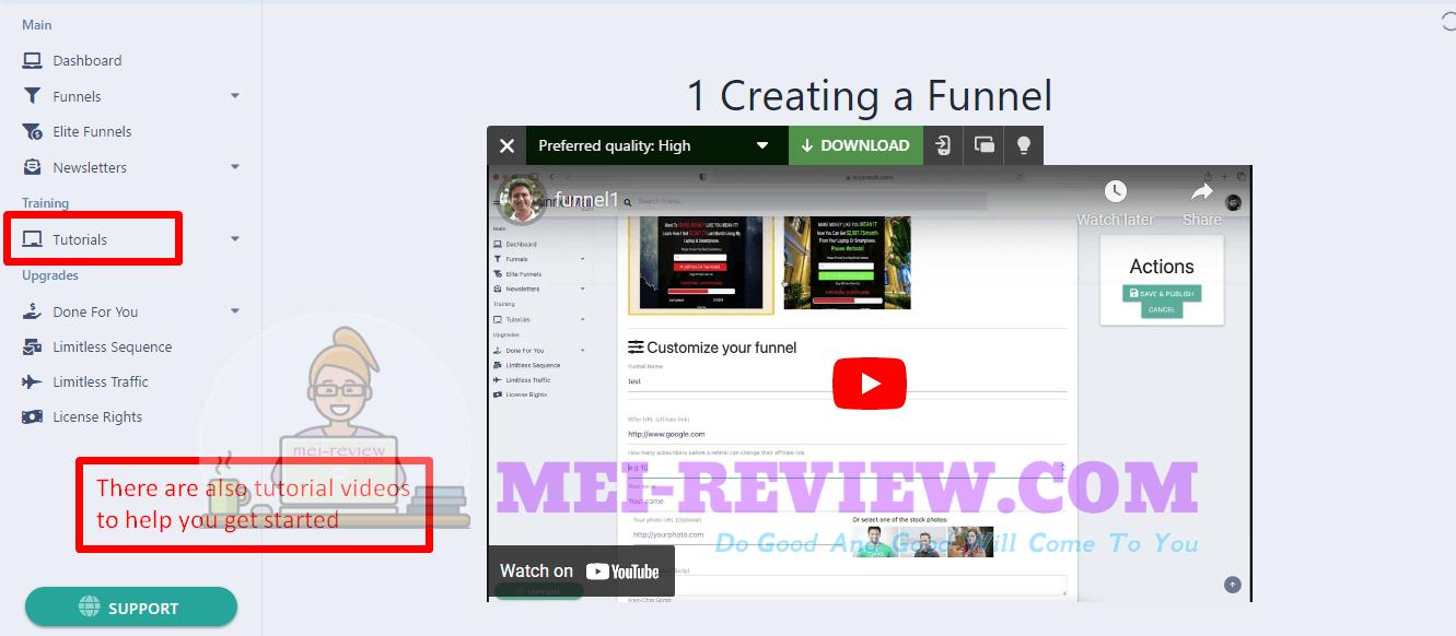 FunnelMail-Suite-demo-9-guiding-video