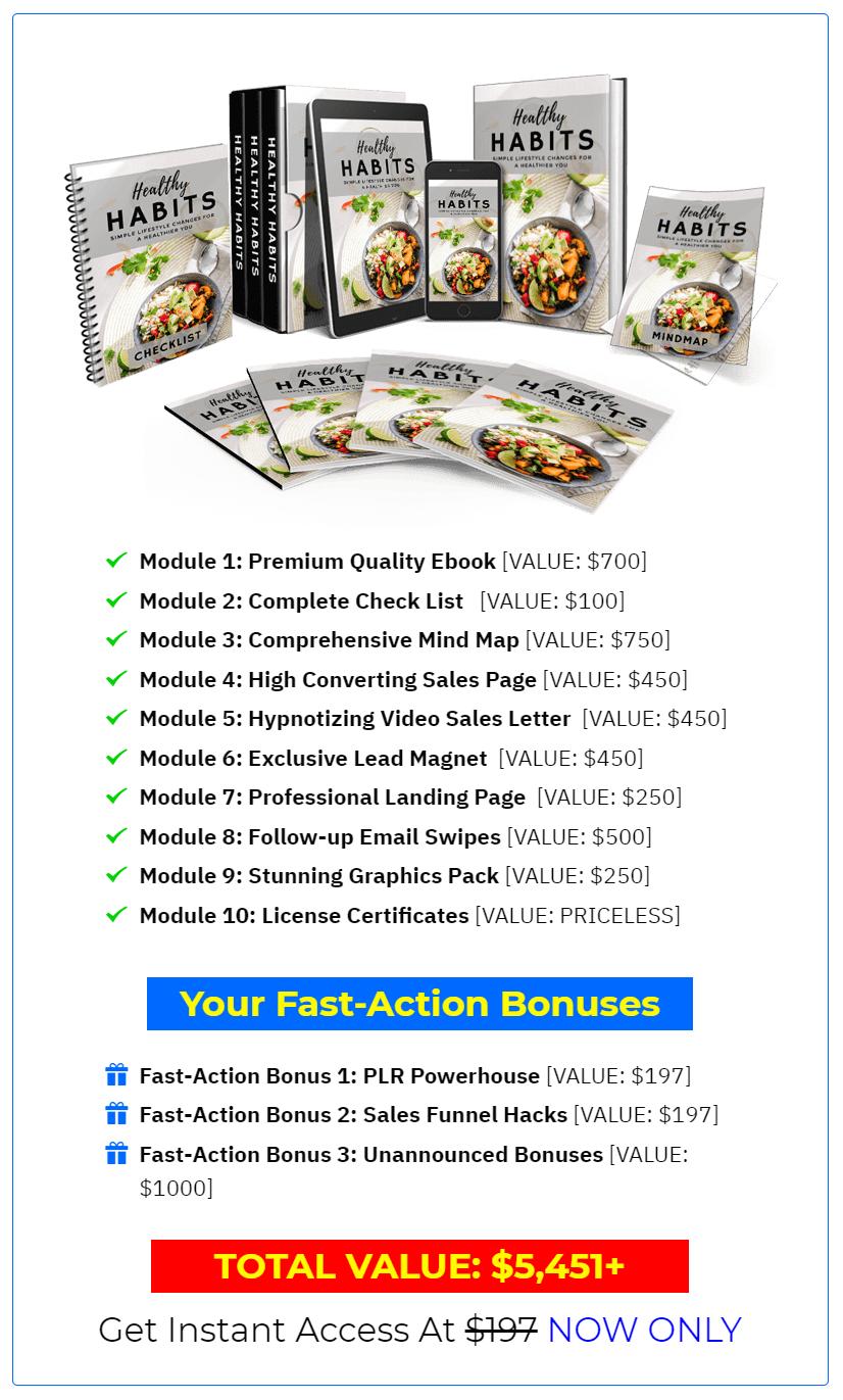 Healthy-Habits-PLR-price