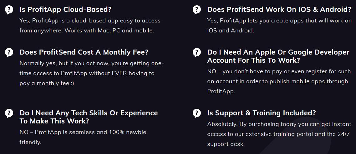 ProfitApp-faq
