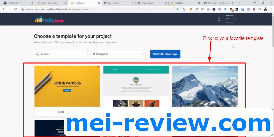 ProfitJam-Demo-8-select-web-template