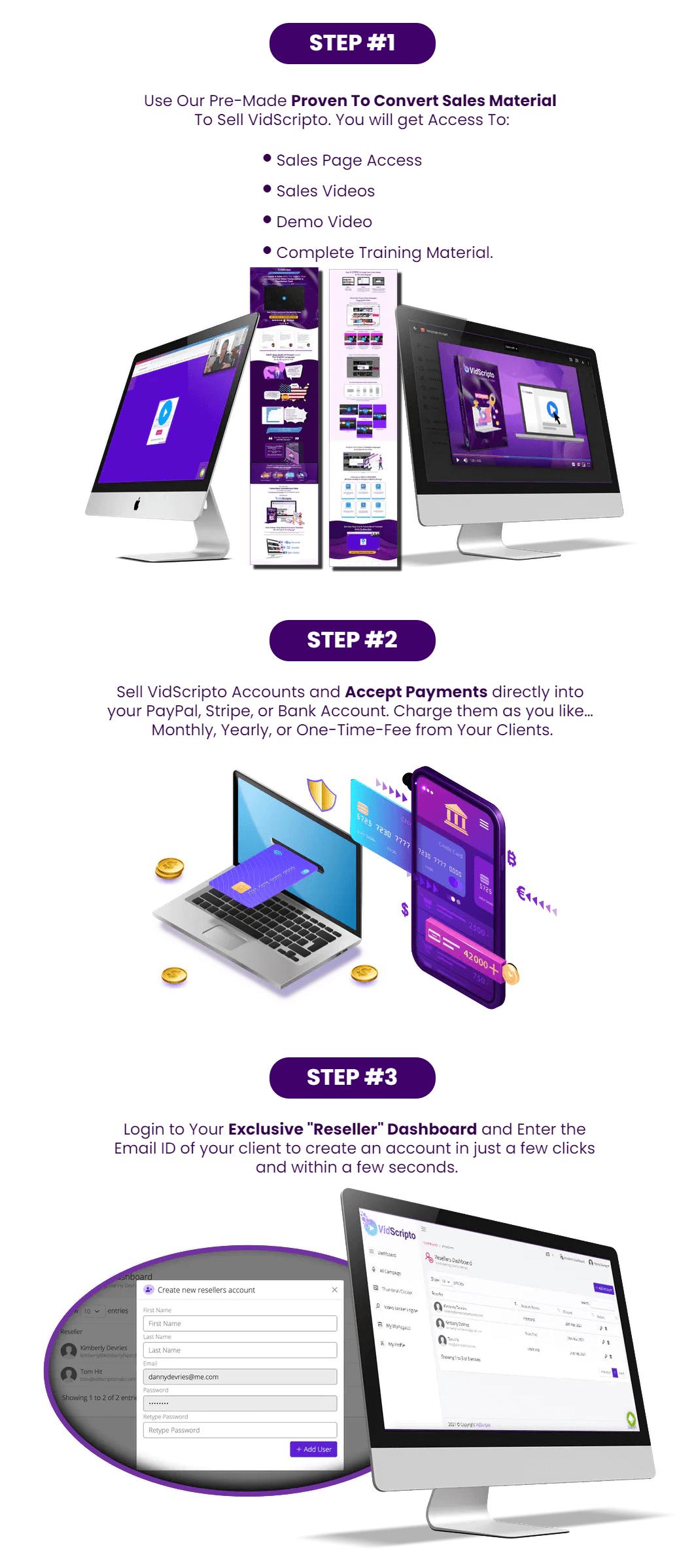 Vidscripto-OTO-4-steps-to-launch-a-software-business