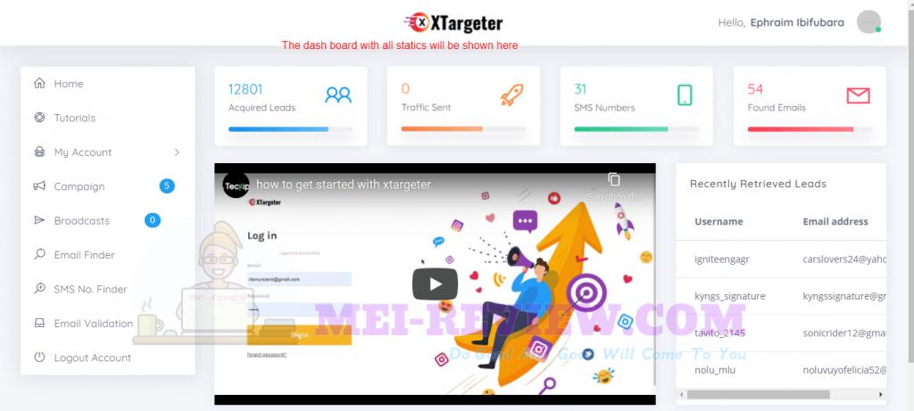XTargeter-Demo-2-dashboard