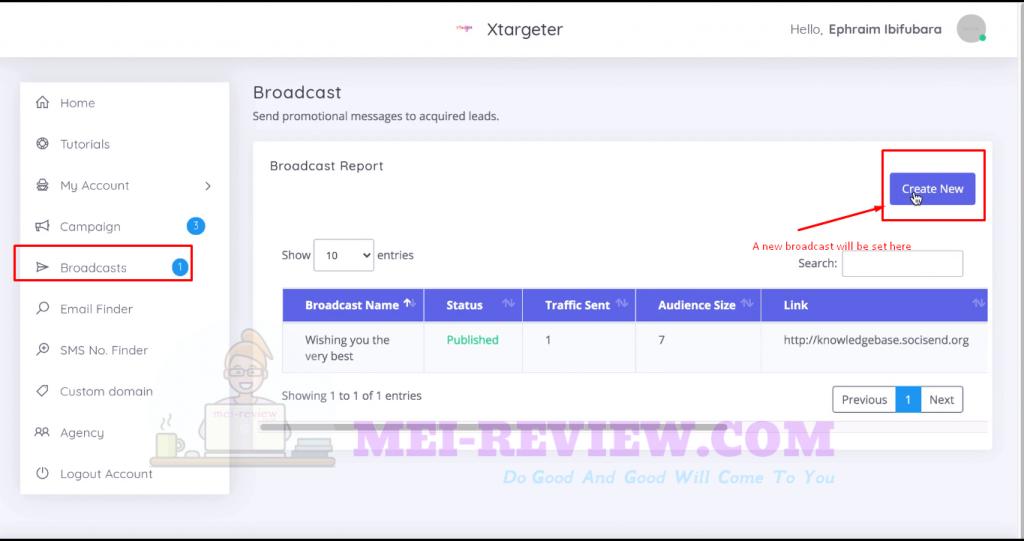 XTargeter-Demo-9-create-broadcast