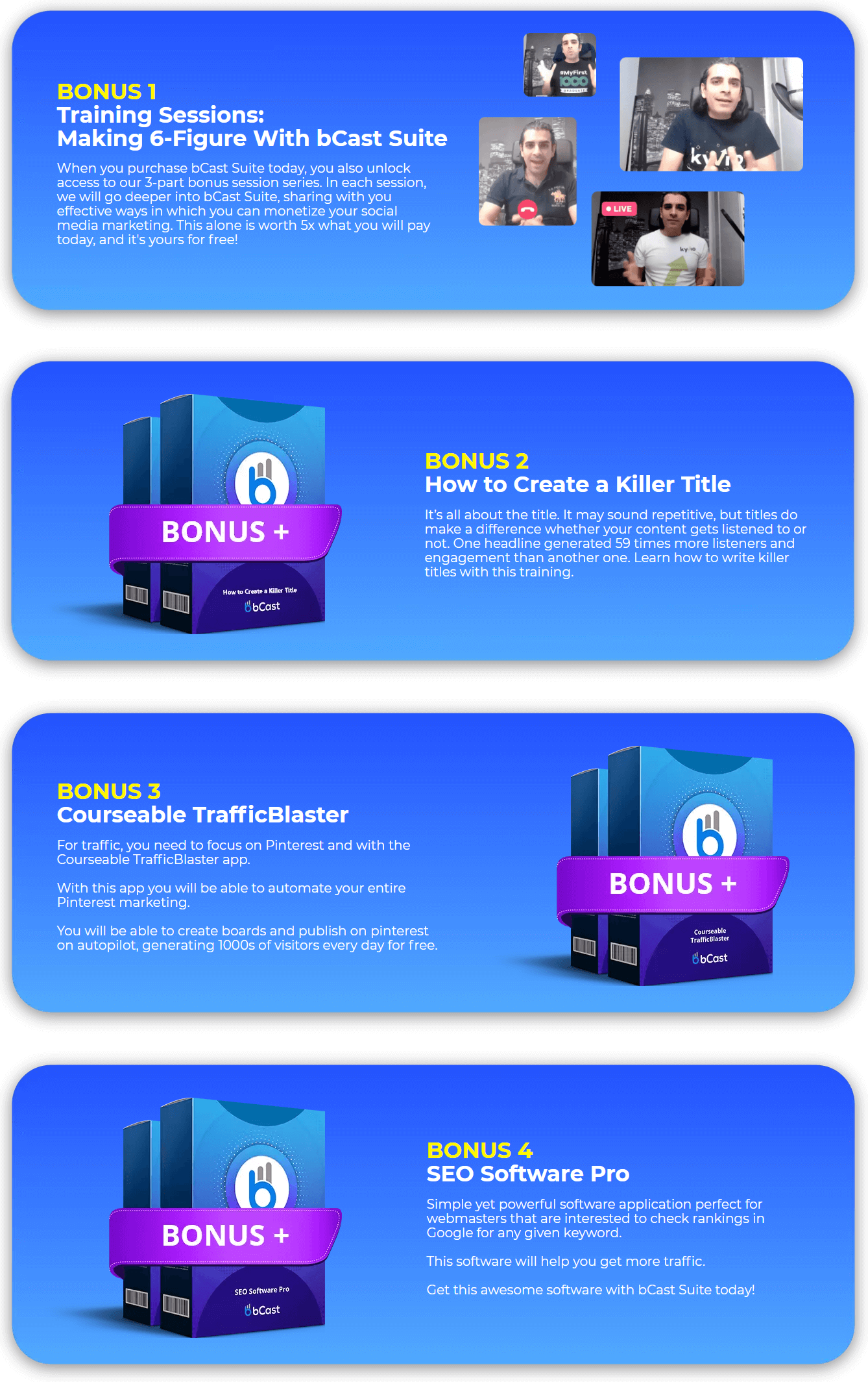 bCast-Suite-bonus