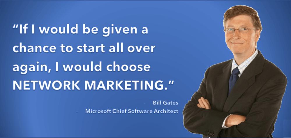Bill-Gates-And-Network-marketing