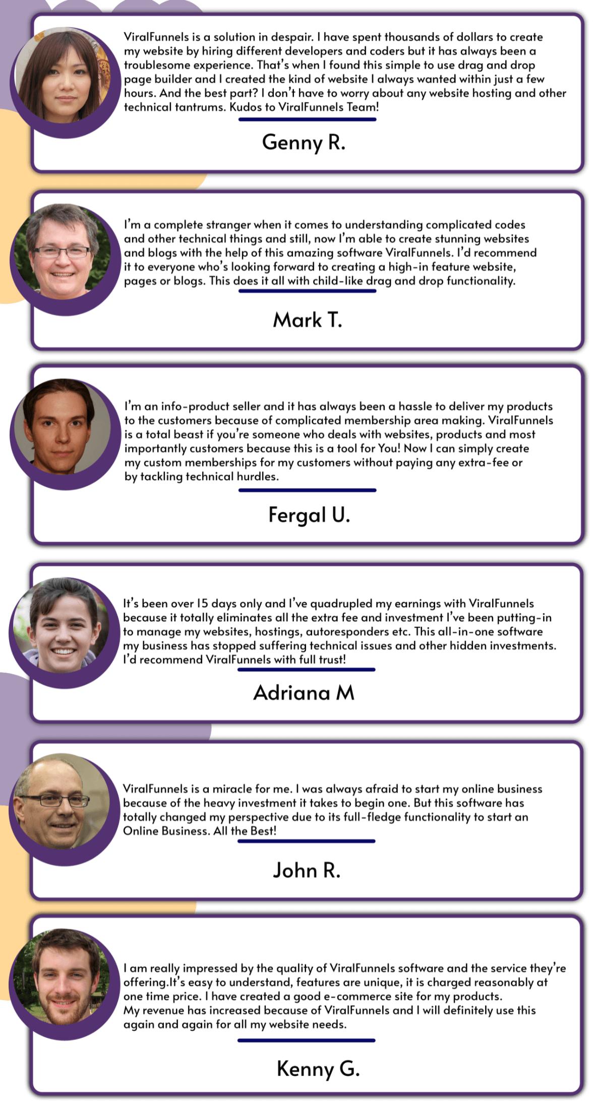 ViralFunnels-feedback