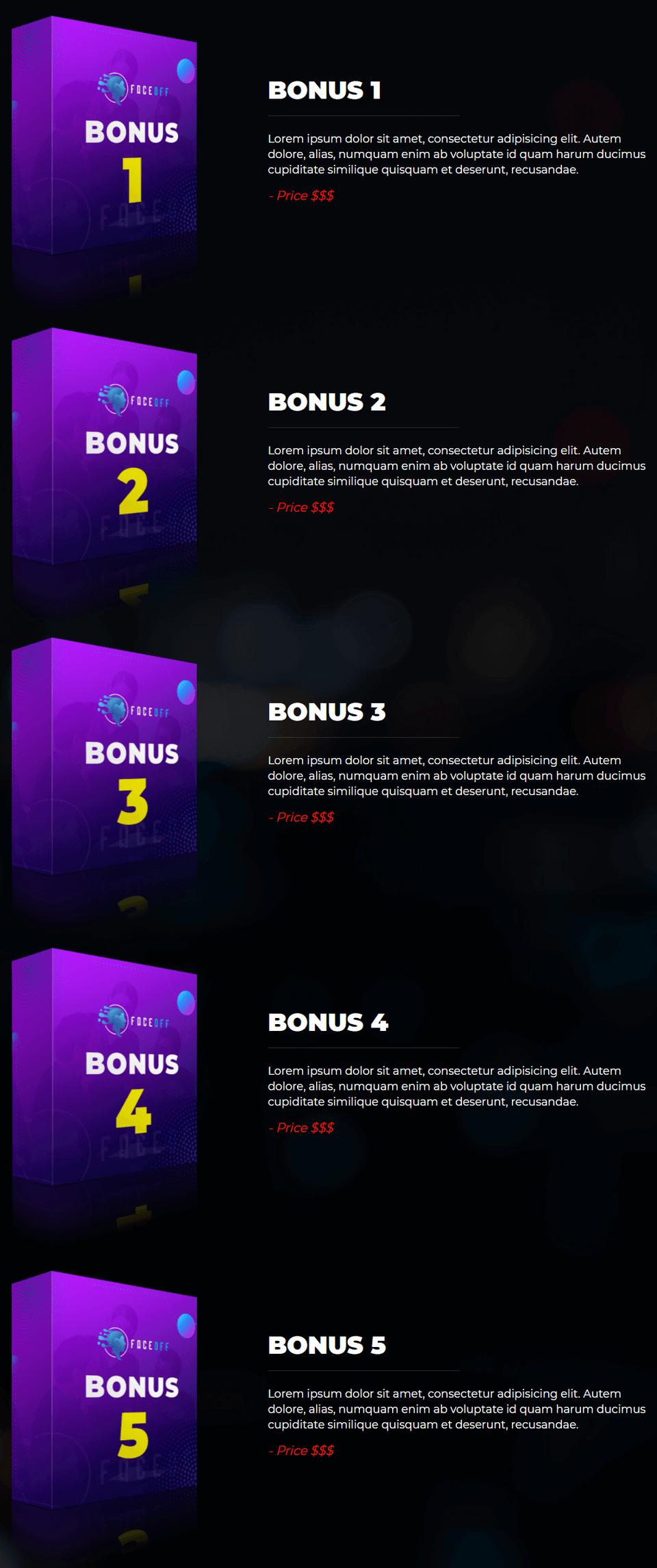 FaceOff-bonus