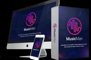 MusicMan Review – Auto-Creates Original & Unique Premium Music Tracks In Seconds