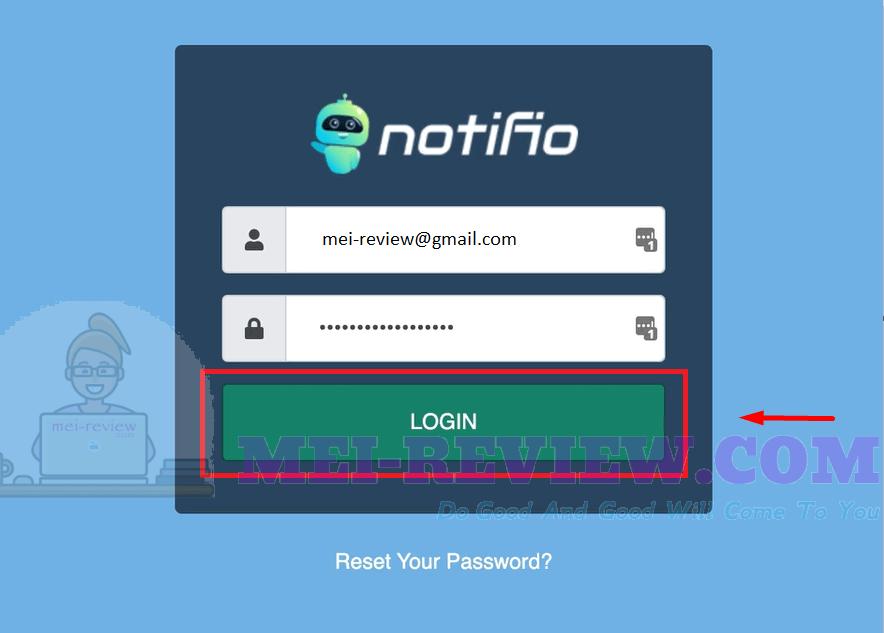 Notifio-Demo-1-login