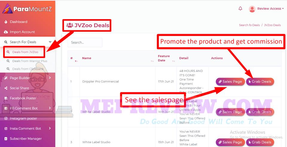 ParaMountZ-demo-6-Search-for-deals