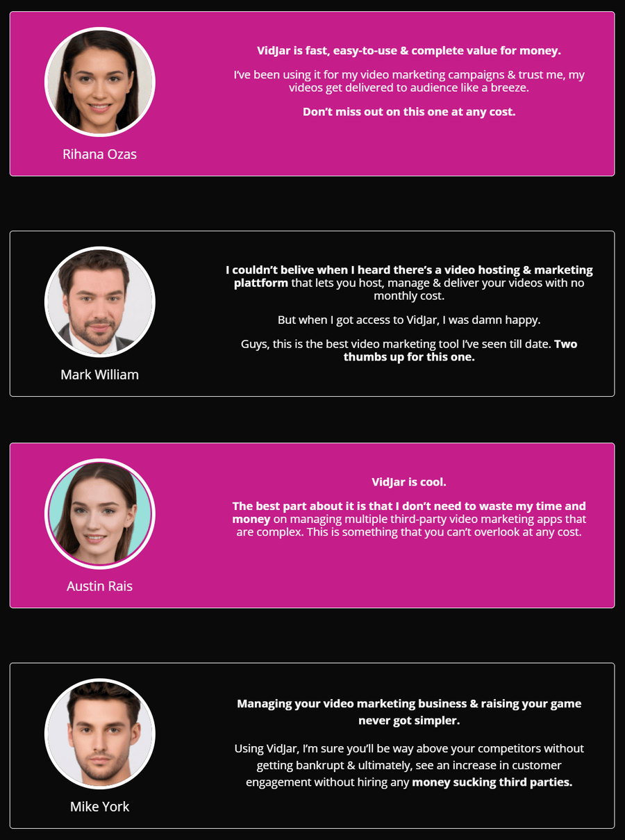 VidJar-feedback