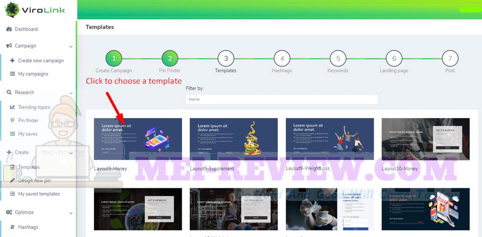 ViroLink-demo-6-Then-choose-your-template
