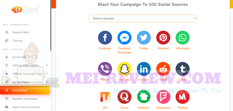 Zest-demo-12-Social-Blast-In-1-click-you-can-blast-your-campaigns-to-100-most-popular-social-media-sites