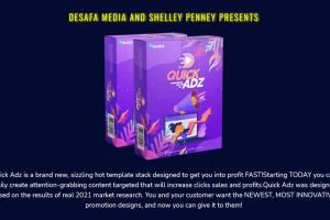 Bonus Part 27 – Quick Adz: 440+ Multipurpose Video Templates