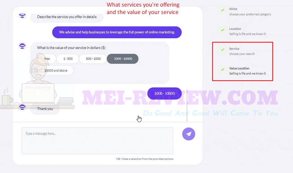 ClientFinda-Demo-6-describe-your-services