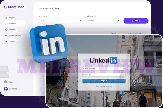 ClientFinda-feature-10-Linkedin-Profile