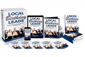 Local Birthday Leads Review – Attract Traffic Into Stores By Tracking Knowing Who's Birthdays And Offering Special Treatment
