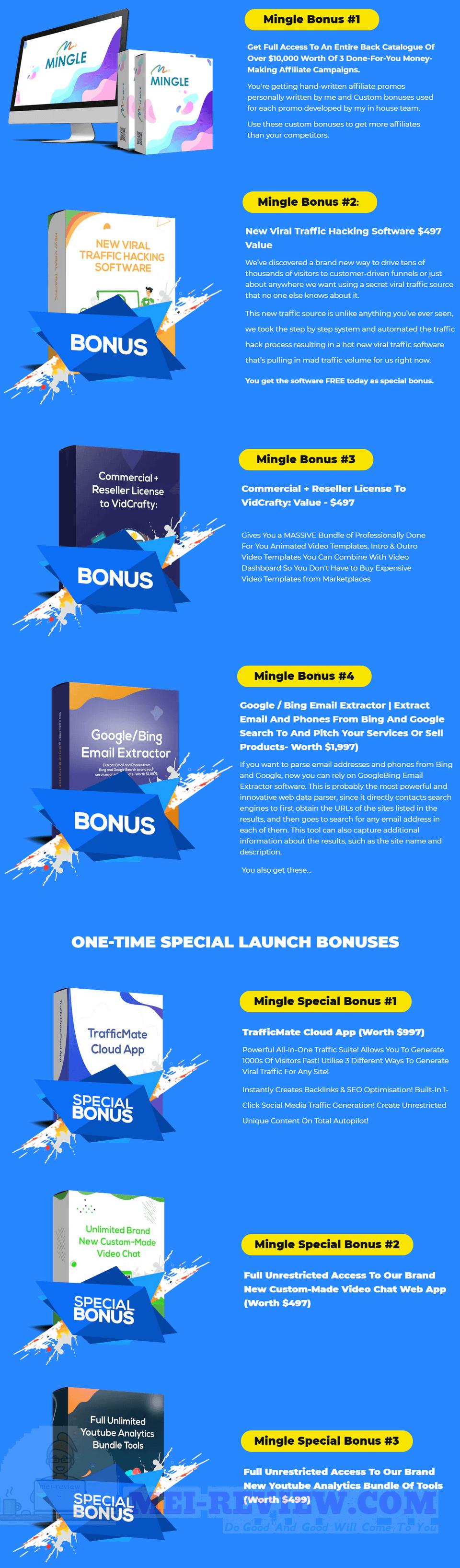 Mingle-bonus