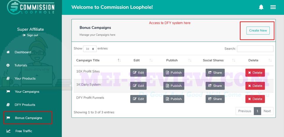 Commission-Loophole-Demo-11-bonus-campaign