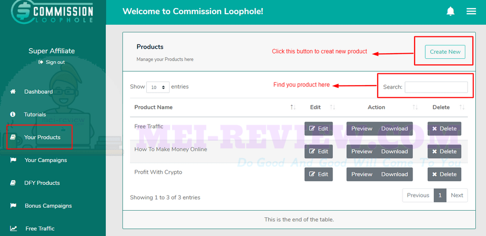 Commission-Loophole-Demo-7-product-lists