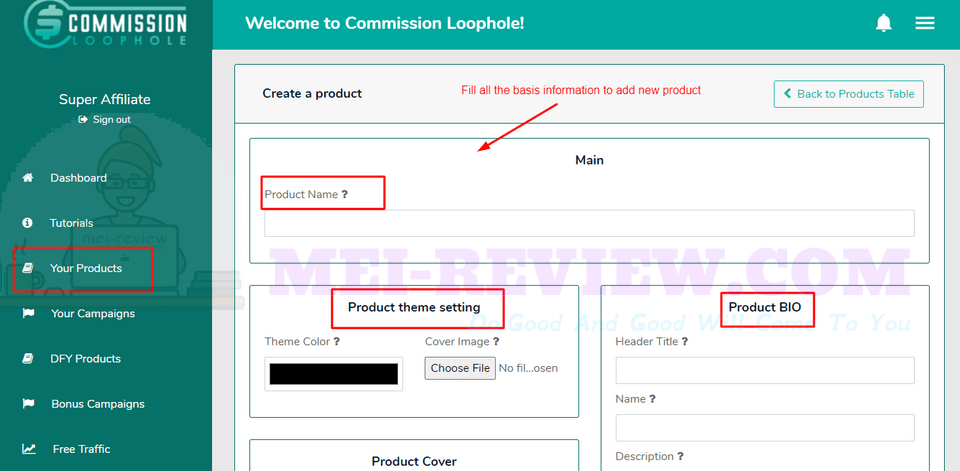 Commission-Loophole-Demo-8-add-new-products