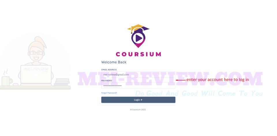 Coursium-demo-1-login