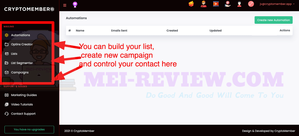 CryptoMember-Demo-12-mailing