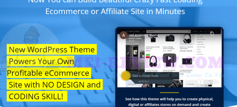 ECOMERZ Wp Theme Review – Powers Your Own Profitable Ecommerce Site