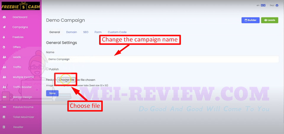 FreebieCash-demo-10-change-the-name-for-your-campaign