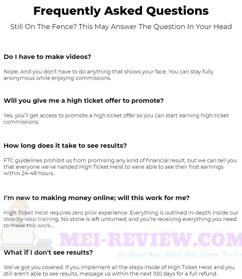 High-Ticket-Heist-faq