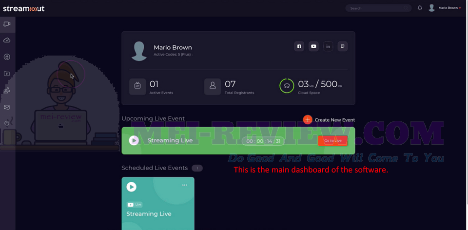 StreamOut-Demo-1-dashboard