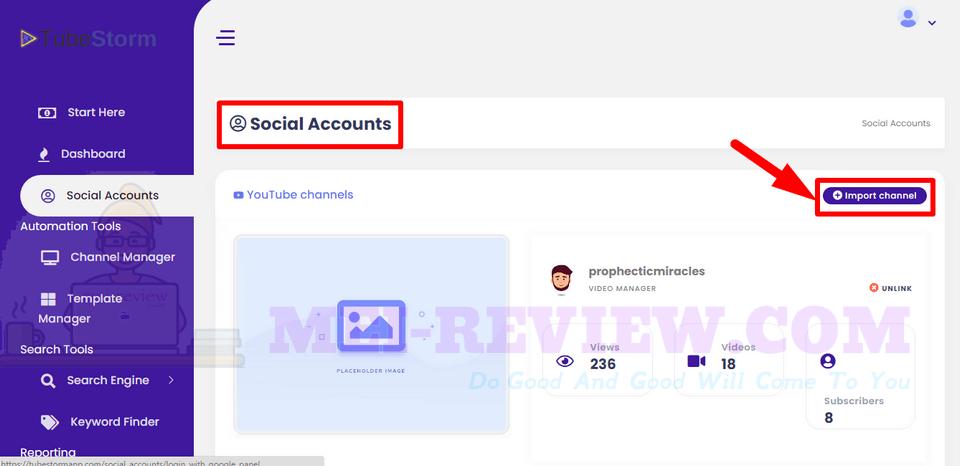 TubeStorm-demo-3-Social-Accounts