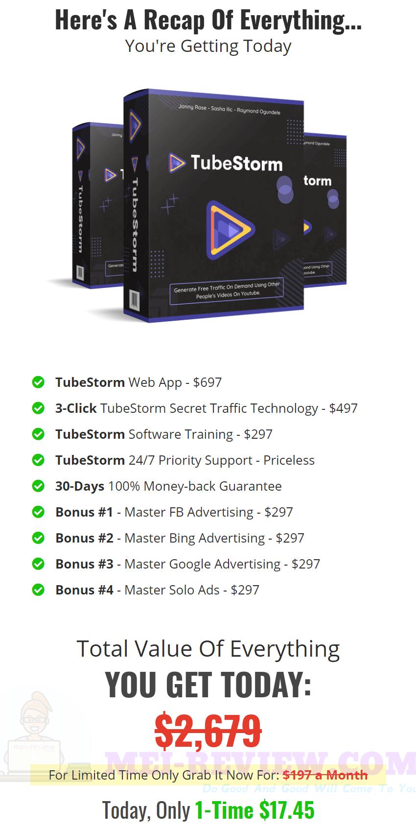 TubeStorm-price